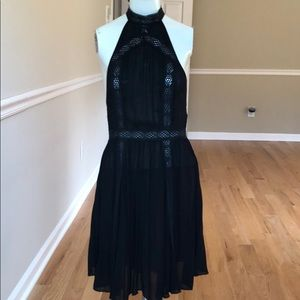 NWOT Intimately Free People black backless dress